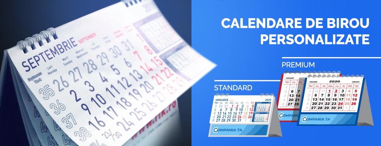 Calendare de birou personalizate