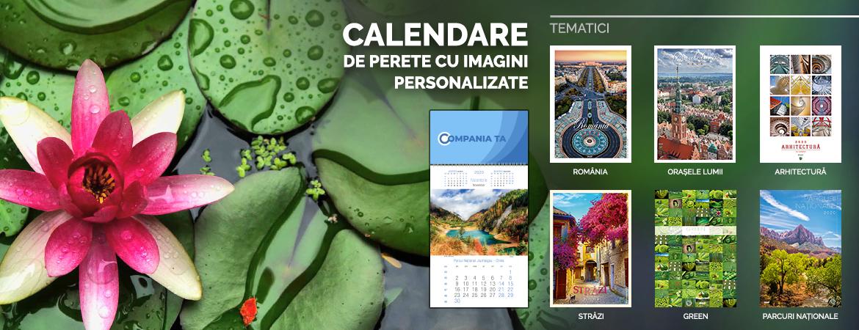 Calendare cu imagini pretiparite personalizate