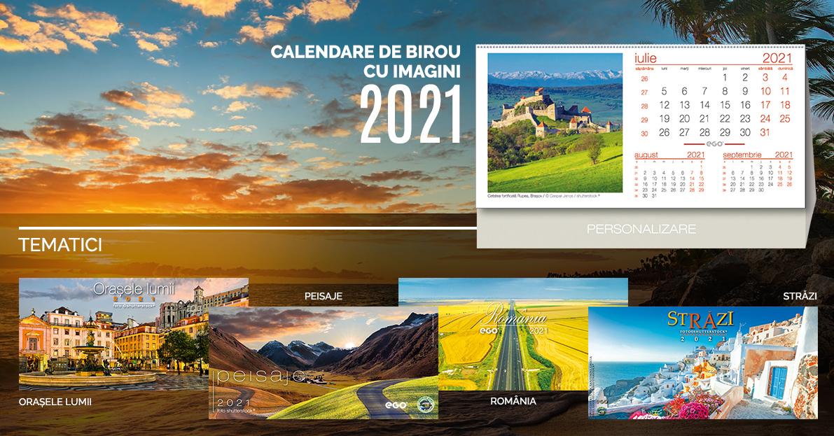 Calendare de birou cu imagini pretiparite personalizate