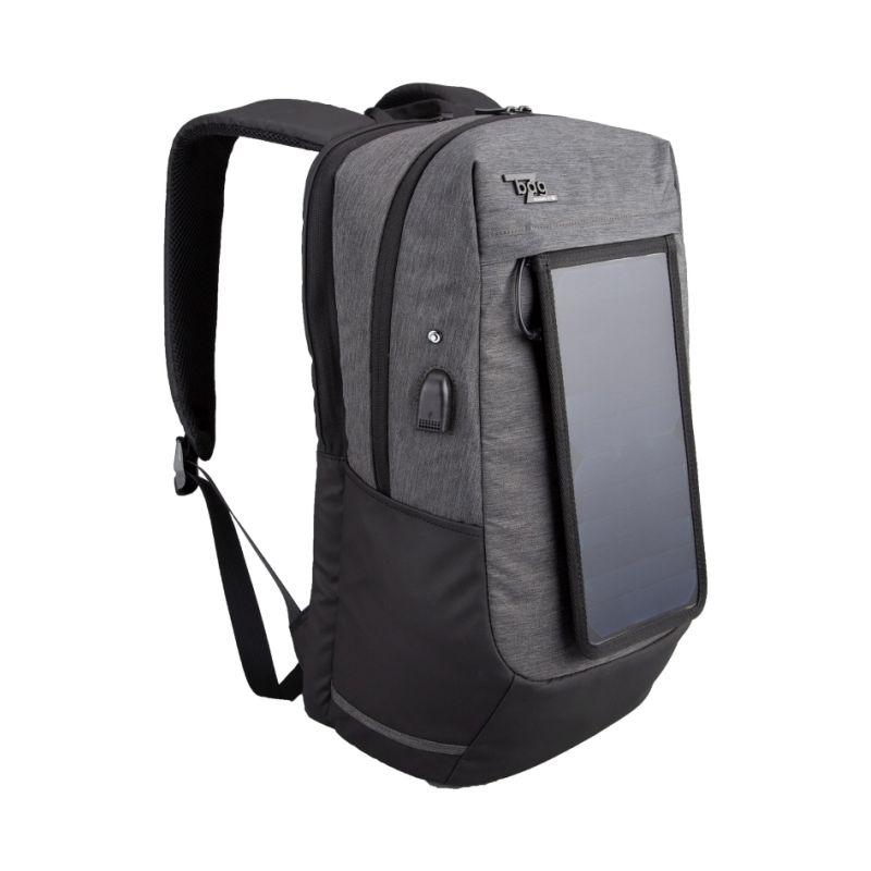 Rucsac Ultra-slim, Compartiment Laptop 15 Panou Solar Deta?abil, Charger Usb, Bagz Solar Herlitz