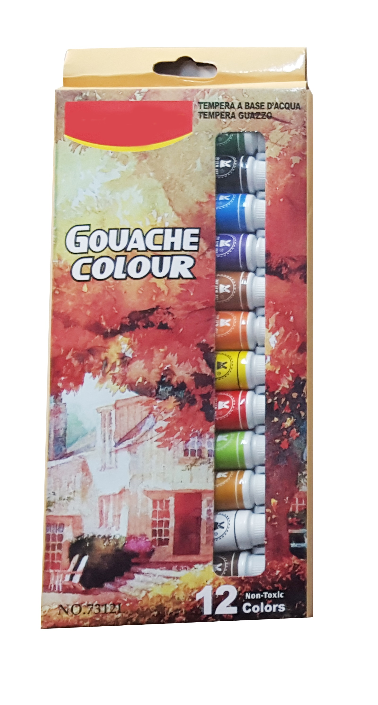 Acuarele Guase  12 Culori Guache Color