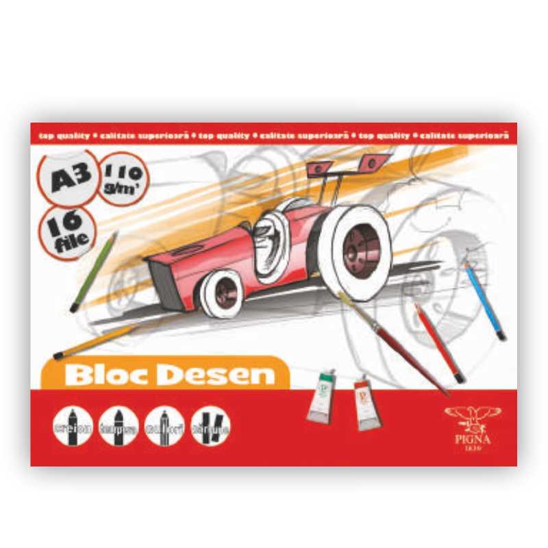 Bloc De Desen A3  16 File  110g/mp