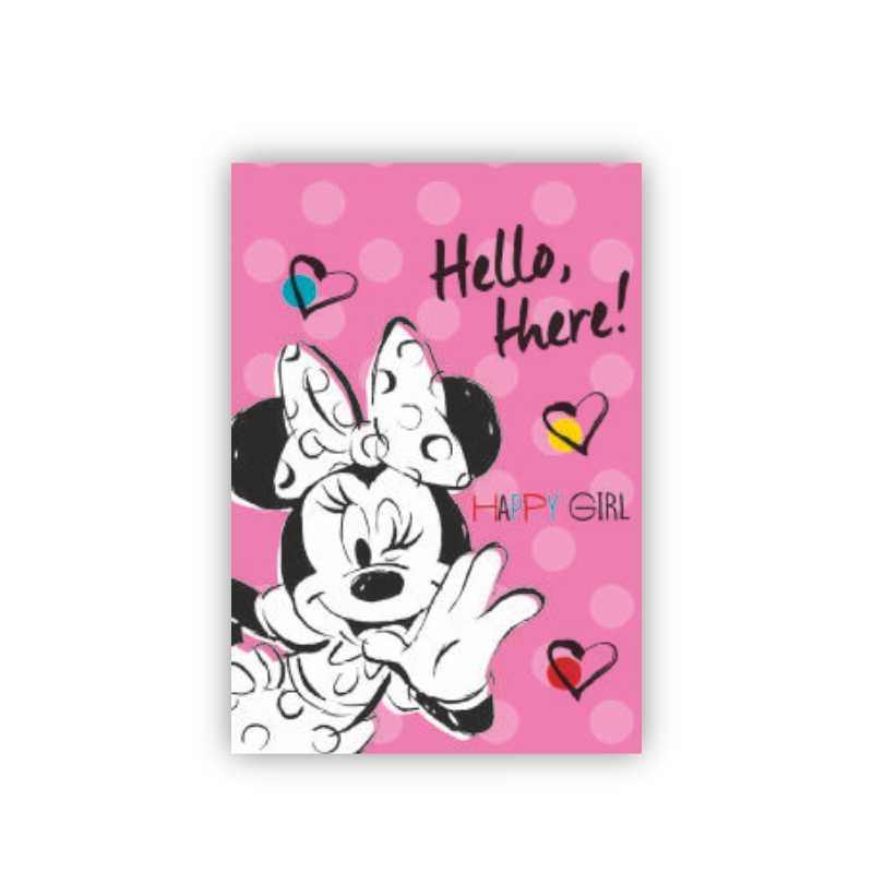Bloc De Desen A4  16 File  160 Gr/mp  Minnie Mouse
