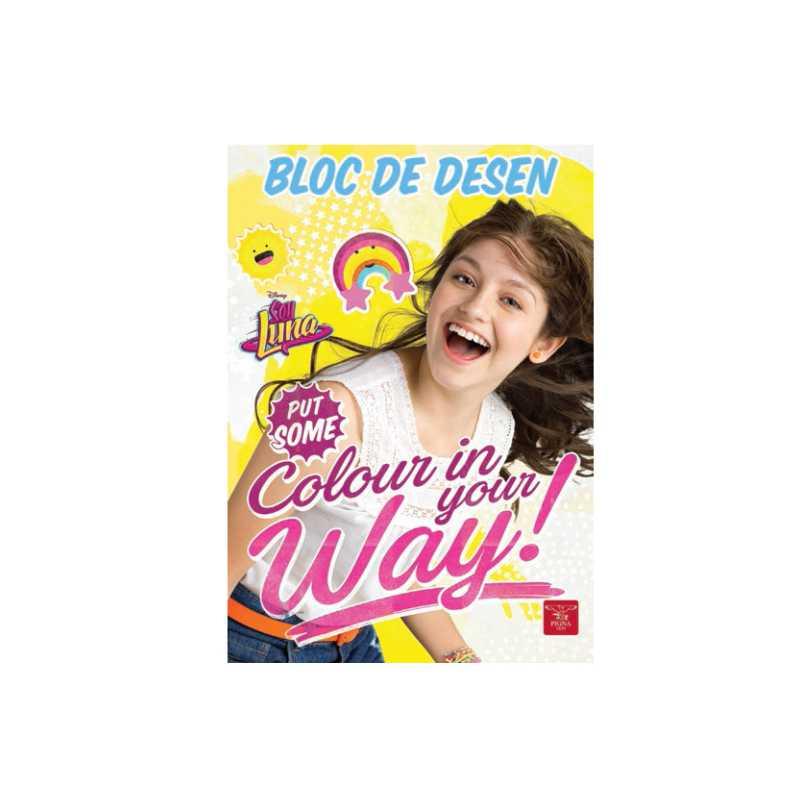 Bloc De Desen A4  16 File  160 Gr/mp  Soy Luna