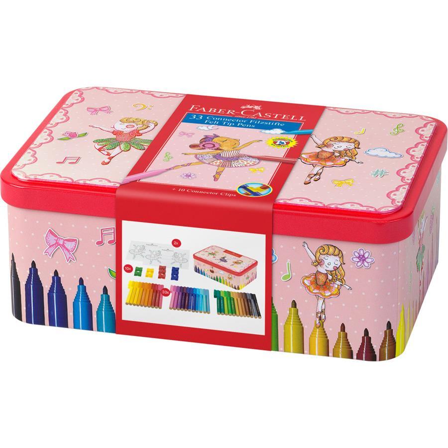 Cutie Carioci  33 Culori Ballerina Box Connector Faber-castell