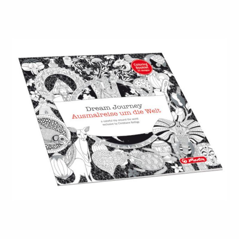 Carte De Colorat Zentangle-dream Journey  23 X 23 Cm  24 File