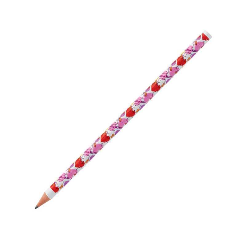 Set Creion Fara Guma  3 Buc/set  Hello Kitty Bic