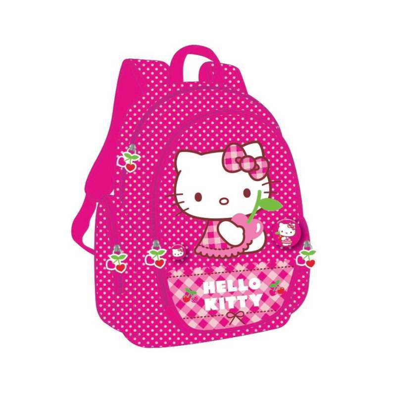 Ghiozdan  Clasele 1-4  Hello Kitty Cherry