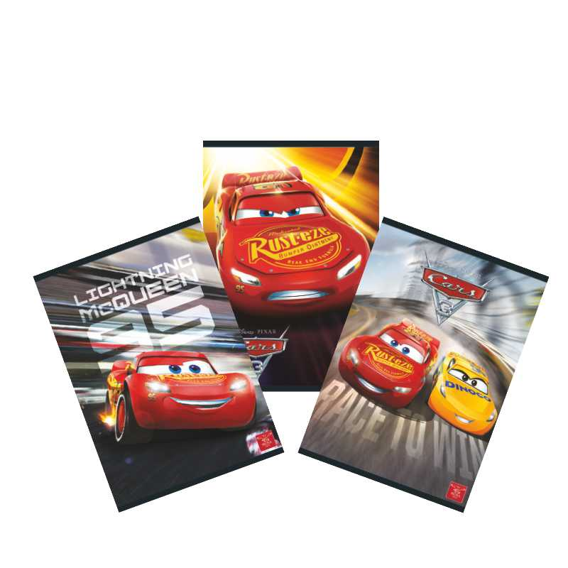 Caiet A5  Tip 1  24 File  Cars 3